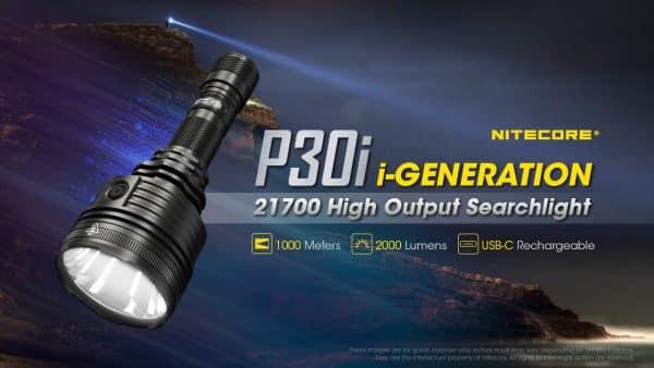 P30i NITECORE