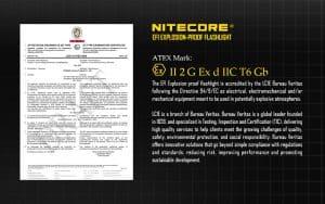 EF1 ATEX NITECORE